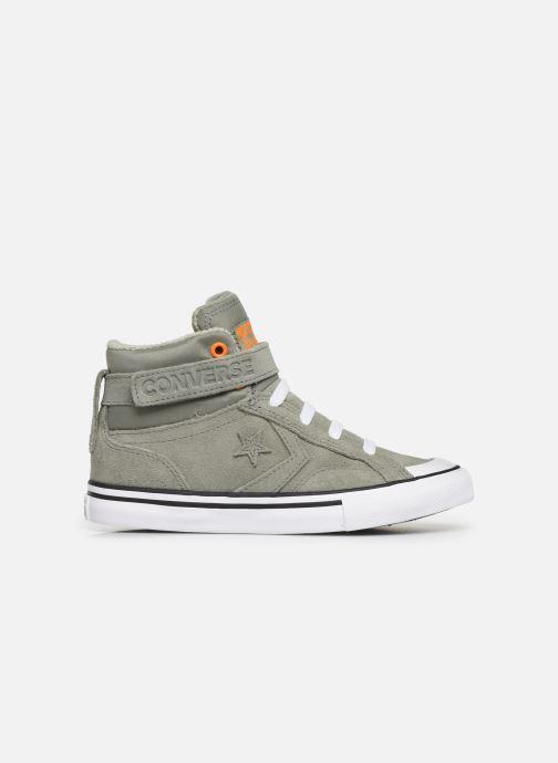Sneaker Converse Pro Blaze Strap Space Ride Hi J grün ansicht von hinten