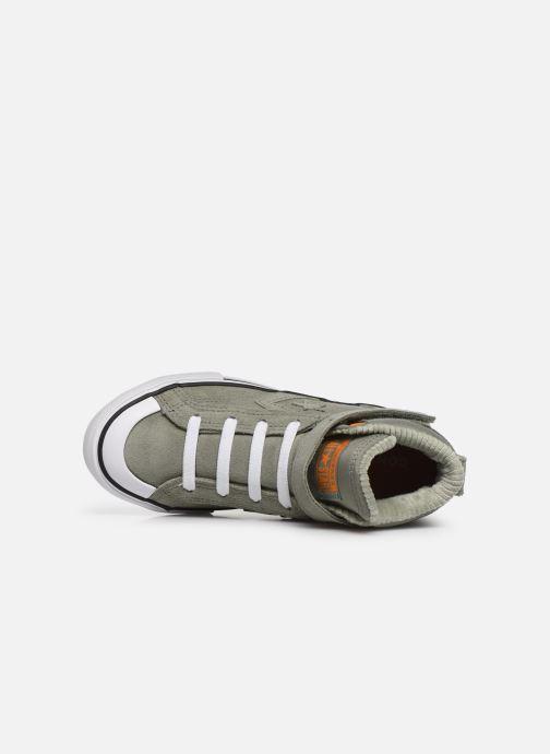 Sneaker Converse Pro Blaze Strap Space Ride Hi J grün ansicht von links
