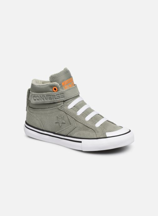 Trainers Converse Pro Blaze Strap Space Ride Hi J Green detailed view/ Pair view