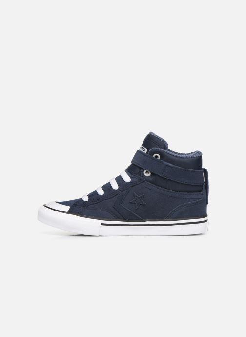 Sneakers Converse Pro Blaze Strap Space Ride Hi J Blauw voorkant