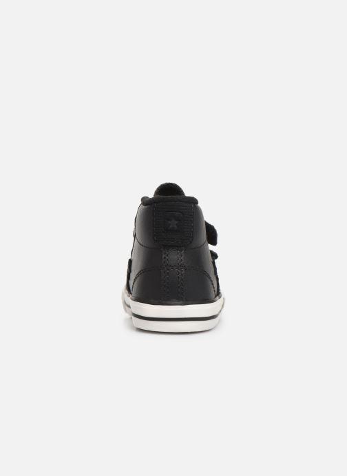Sneaker Converse Star Player 2V Asteroid Mid schwarz ansicht von rechts
