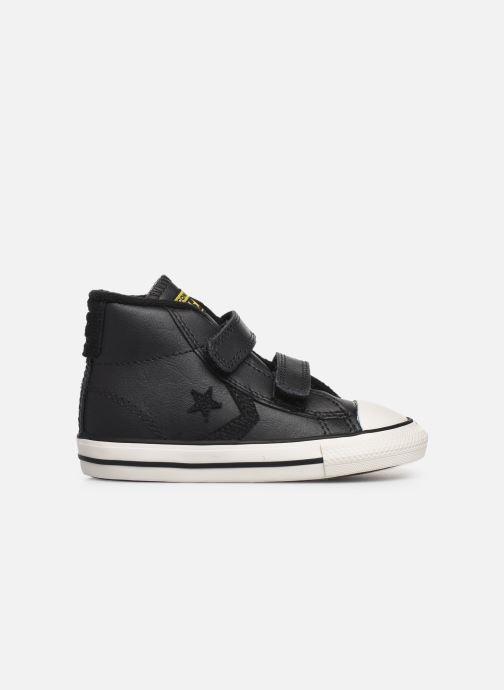Sneaker Converse Star Player 2V Asteroid Mid schwarz ansicht von hinten