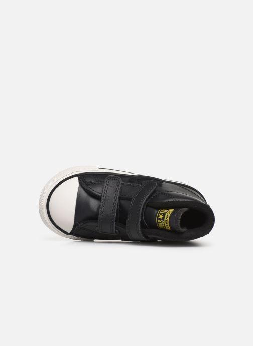 Sneaker Converse Star Player 2V Asteroid Mid schwarz ansicht von links