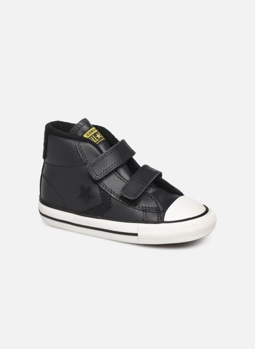 Baskets Converse Star Player 2V Asteroid Mid Noir vue détail/paire