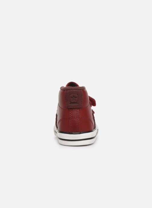 Baskets Converse Star Player 2V Asteroid Mid Rouge vue droite