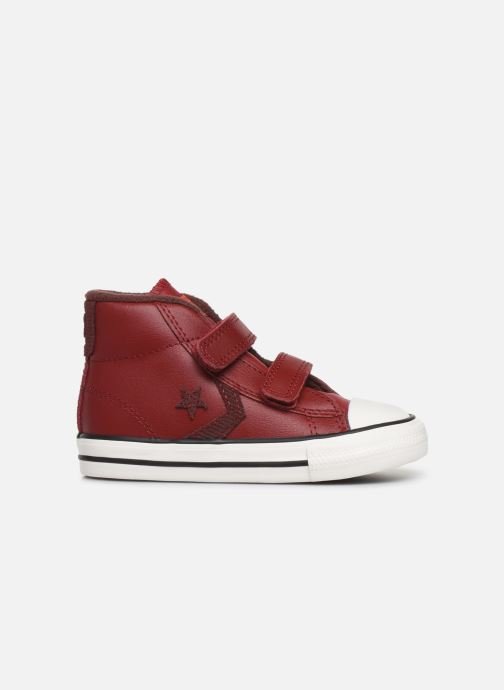 Sneakers Converse Star Player 2V Asteroid Mid Rood achterkant