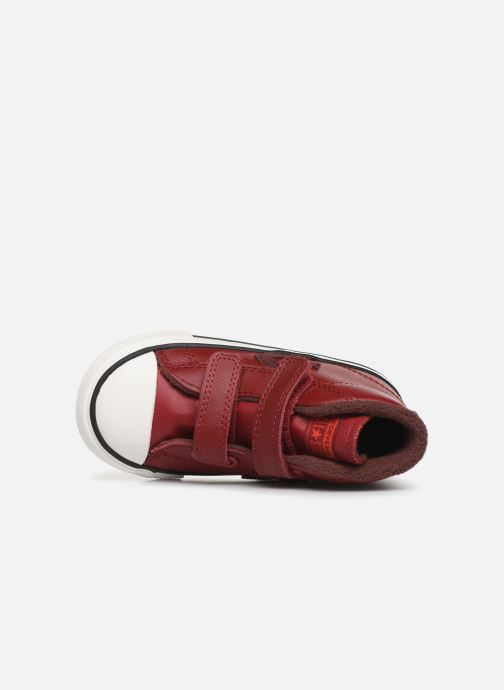 Baskets Converse Star Player 2V Asteroid Mid Rouge vue gauche