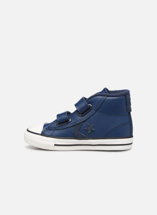 Sneakers Converse Star Player 2V Asteroid Mid Zwart voorkant