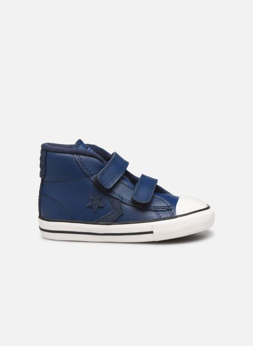 Sneakers Converse Star Player 2V Asteroid Mid Zwart achterkant