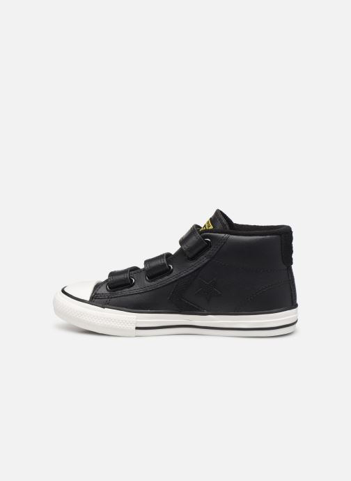 Sneakers Converse Star Player 3V Asteroid Mid Zwart voorkant