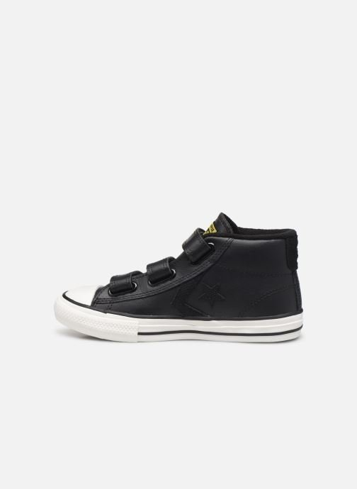 Baskets Converse Star Player 3V Asteroid Mid Noir vue face