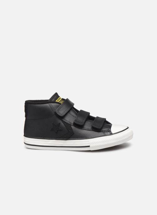 Sneakers Converse Star Player 3V Asteroid Mid Zwart achterkant