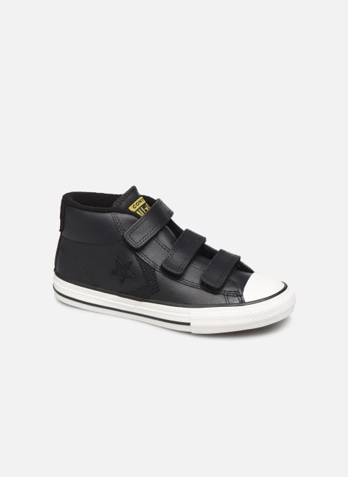 Sneakers Converse Star Player 3V Asteroid Mid Zwart detail