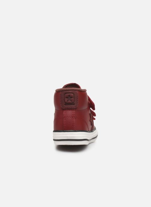 Trainers Converse Star Player 3V Asteroid Mid Burgundy view from the right