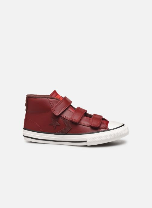 Trainers Converse Star Player 3V Asteroid Mid Burgundy back view