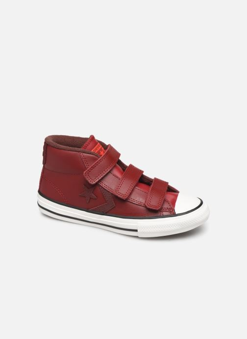 Baskets Converse Star Player 3V Asteroid Mid Bordeaux vue détail/paire