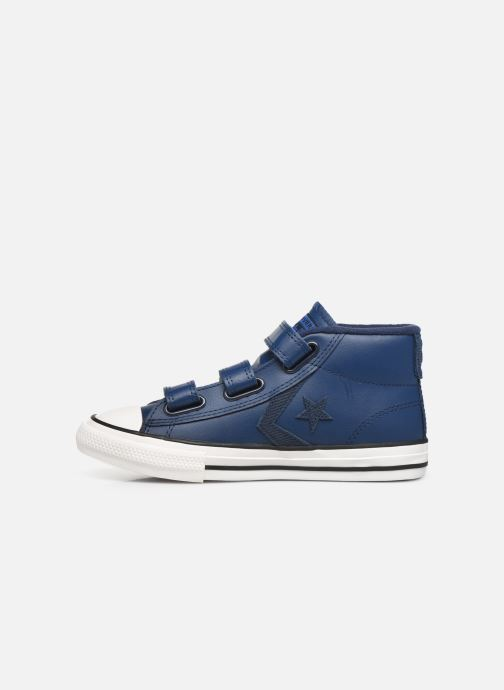 Sneakers Converse Star Player 3V Asteroid Mid Blauw voorkant