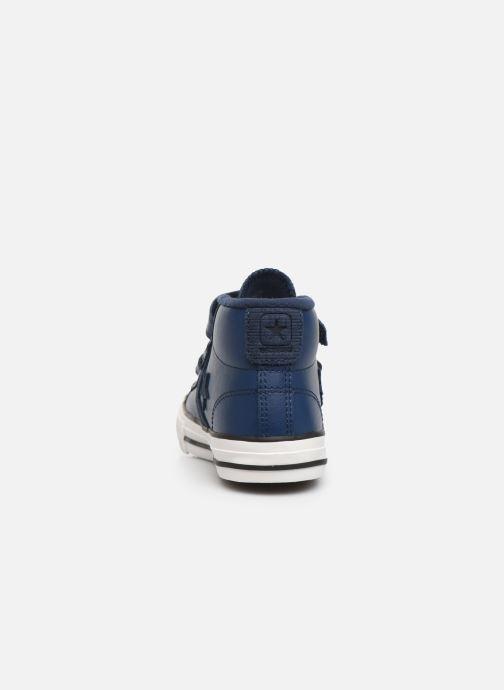 Sneaker Converse Star Player 3V Asteroid Mid blau ansicht von rechts