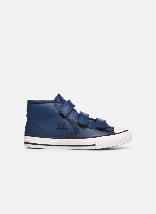 Sneaker Converse Star Player 3V Asteroid Mid blau ansicht von hinten