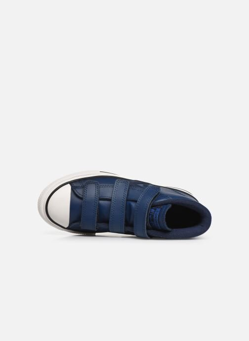 Sneakers Converse Star Player 3V Asteroid Mid Azzurro immagine sinistra