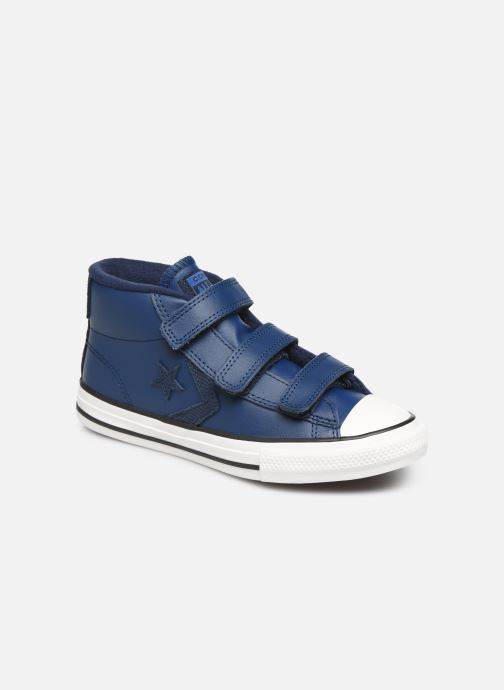 Sneakers Converse Star Player 3V Asteroid Mid Blauw detail