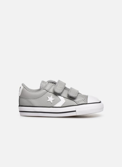 Sneakers Converse Star Player Ev 2V Leather Ox Grijs achterkant