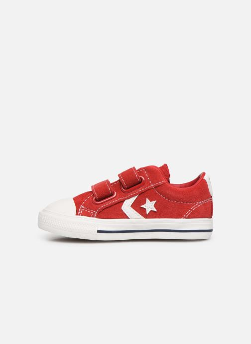 Sneakers Converse Star Player Ev 2V Leather Ox Rood voorkant