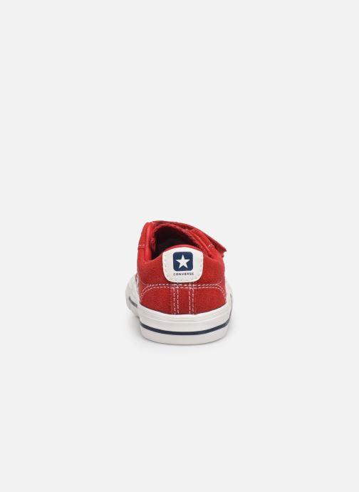 Sneaker Converse Star Player Ev 2V Leather Ox rot ansicht von rechts