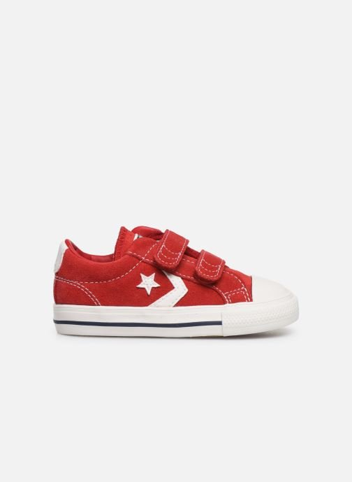 Sneakers Converse Star Player Ev 2V Leather Ox Rood achterkant