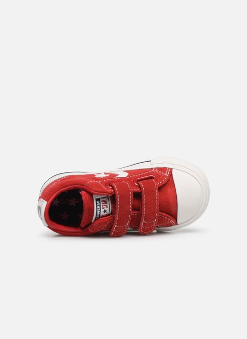 Baskets Converse Star Player Ev 2V Leather Ox Rouge vue gauche