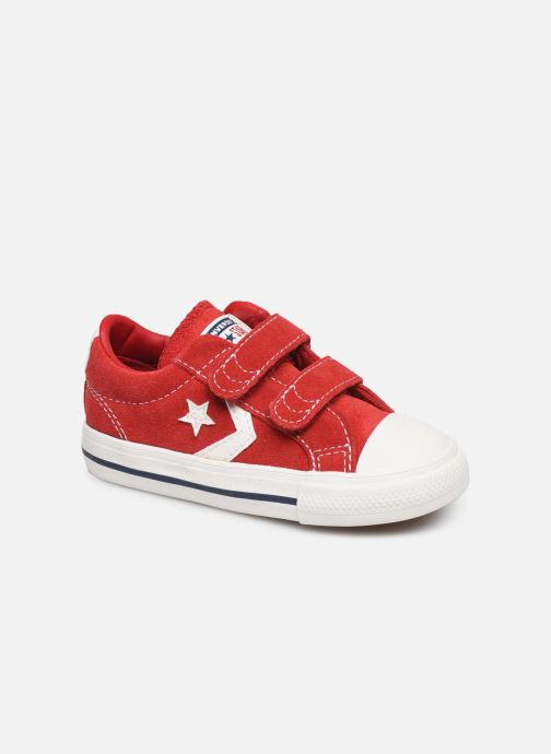 Sneakers Converse Star Player Ev 2V Leather Ox Rood detail