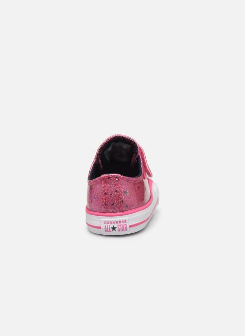 Sneakers Converse Chuck Taylor All Star 1V Galaxy Glimmer Ox Roze rechts