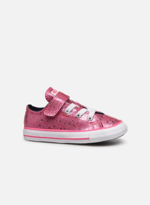 Sneakers Converse Chuck Taylor All Star 1V Galaxy Glimmer Ox Roze achterkant