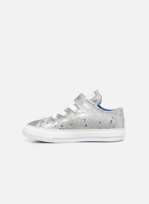 Baskets Converse Chuck Taylor All Star 1V Galaxy Glimmer Ox Argent vue face