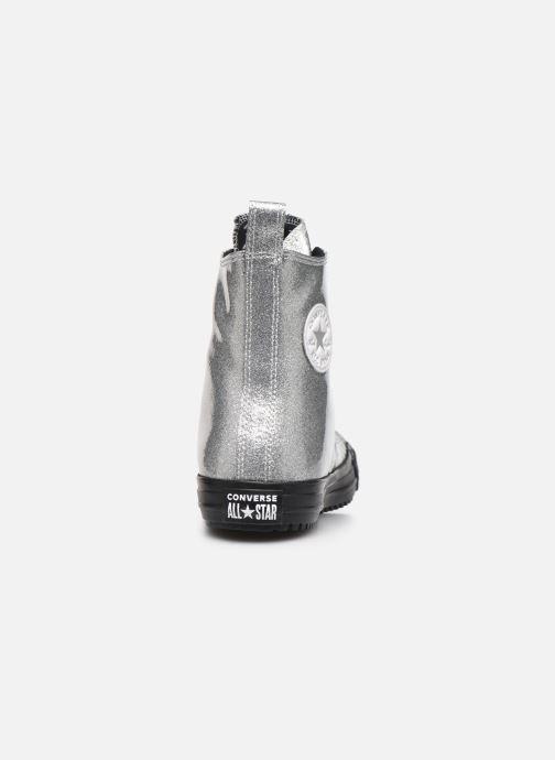 Sneakers Converse Chuck Taylor All Star Boot Coated Glitter Xhi Grå Se fra højre
