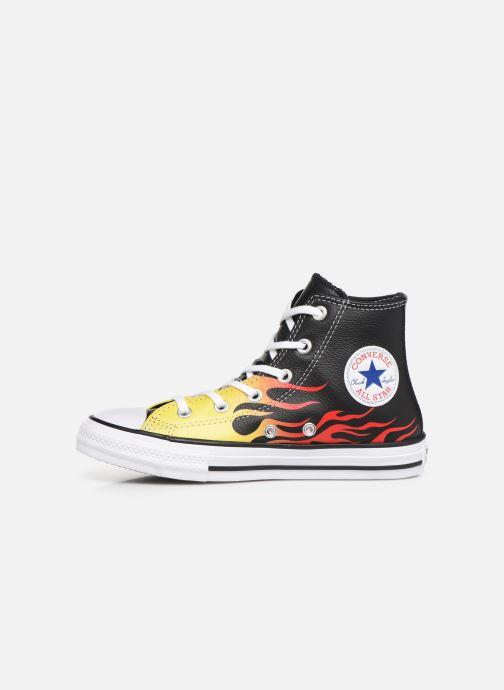 Sneakers Converse Chuck Taylor All Star Flame Hi Zwart voorkant