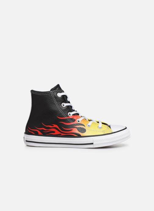 Trainers Converse Chuck Taylor All Star Flame Hi Black back view