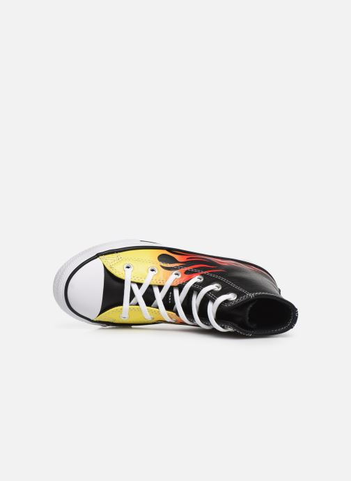 Sneakers Converse Chuck Taylor All Star Flame Hi Nero immagine sinistra
