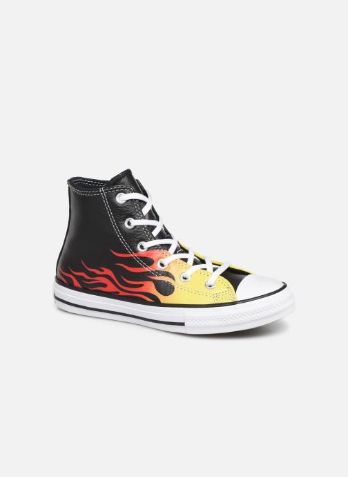 Sneakers Converse Chuck Taylor All Star Flame Hi Zwart detail