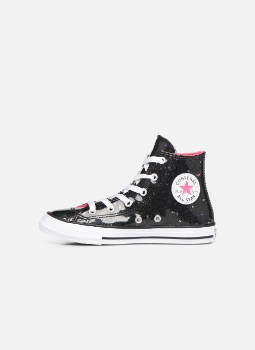 Sneakers Converse Chuck Taylor All Star Galaxy Glimmer Hi Zwart voorkant