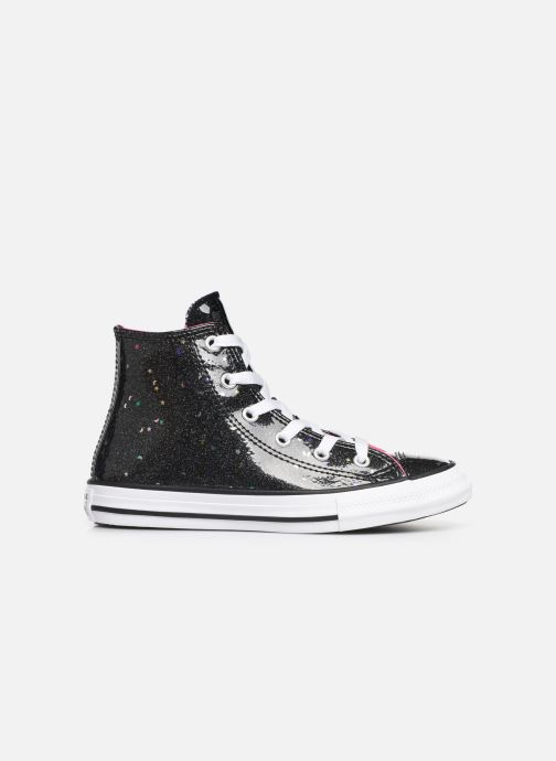 Sneakers Converse Chuck Taylor All Star Galaxy Glimmer Hi Zwart achterkant