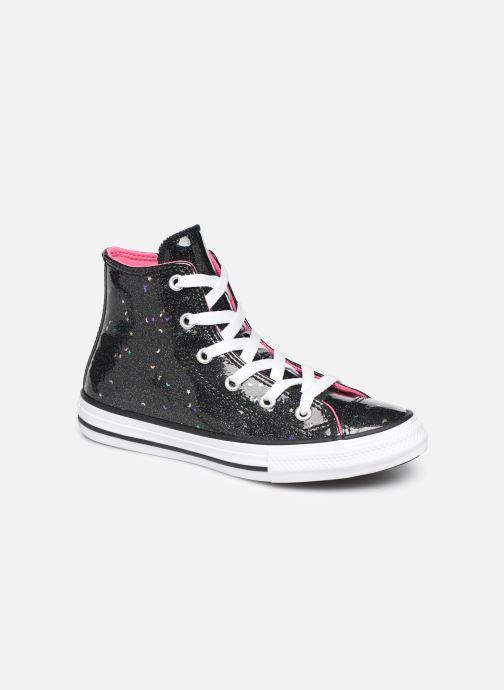 Sneakers Converse Chuck Taylor All Star Galaxy Glimmer Hi Zwart detail