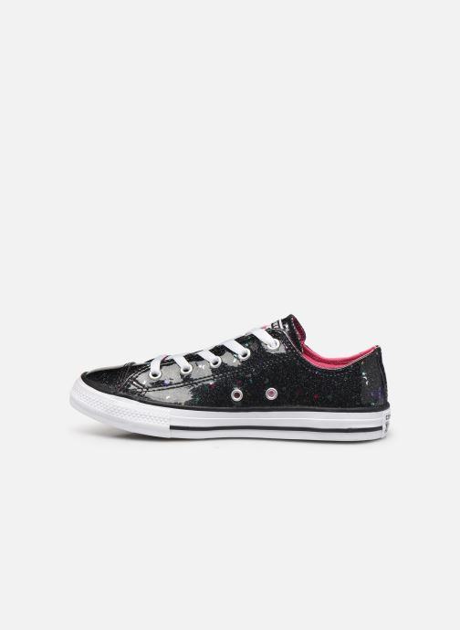 Sneakers Converse Chuck Taylor All Star Galaxy Glimmer Ox Zwart voorkant