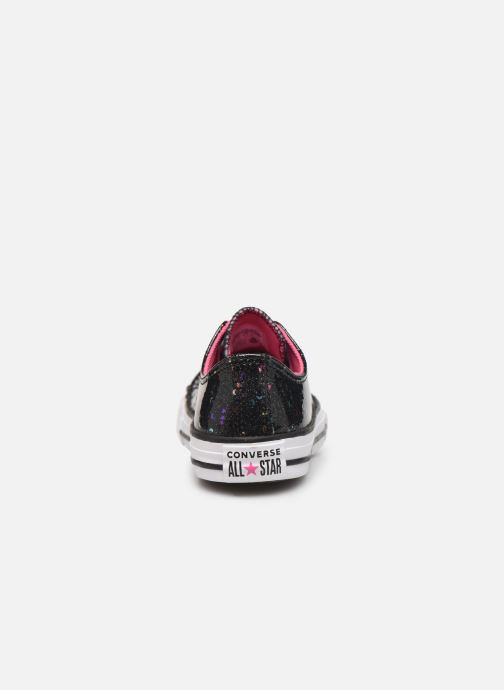 Sneakers Converse Chuck Taylor All Star Galaxy Glimmer Ox Nero immagine destra