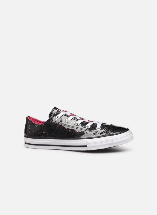 Sneakers Converse Chuck Taylor All Star Galaxy Glimmer Ox Zwart achterkant