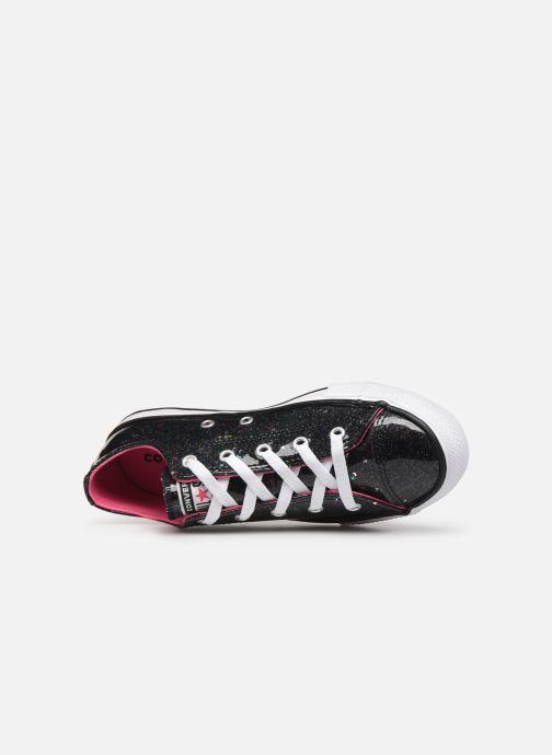 Sneakers Converse Chuck Taylor All Star Galaxy Glimmer Ox Nero immagine sinistra