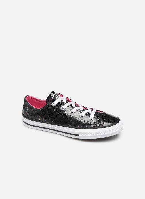 Sneakers Converse Chuck Taylor All Star Galaxy Glimmer Ox Zwart detail