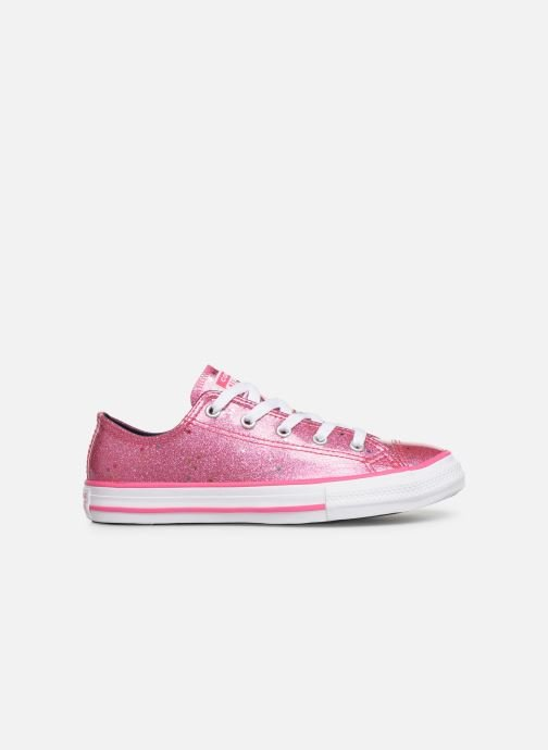 Sneakers Converse Chuck Taylor All Star Galaxy Glimmer Ox Roze achterkant