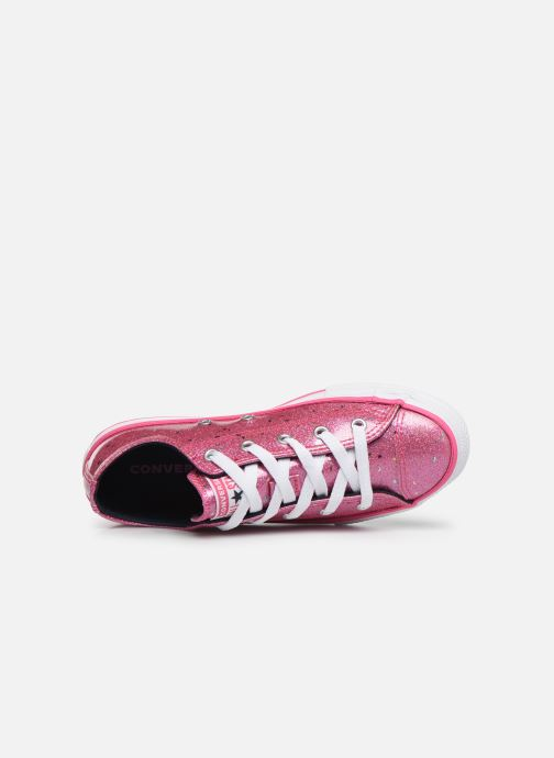 Sneakers Converse Chuck Taylor All Star Galaxy Glimmer Ox Roze links