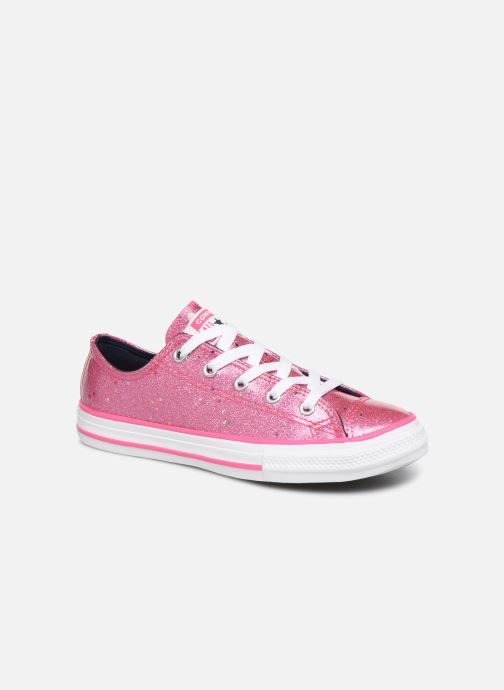 Sneakers Converse Chuck Taylor All Star Galaxy Glimmer Ox Roze detail
